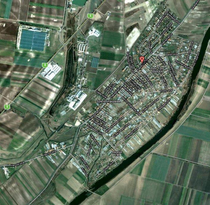 Szeged Szentmihaly Terkepe